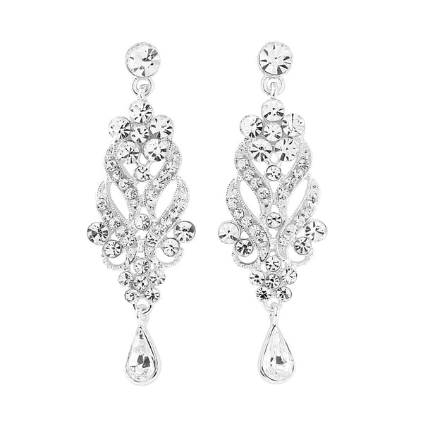 Enchanting Crystal Bridal Earrings
