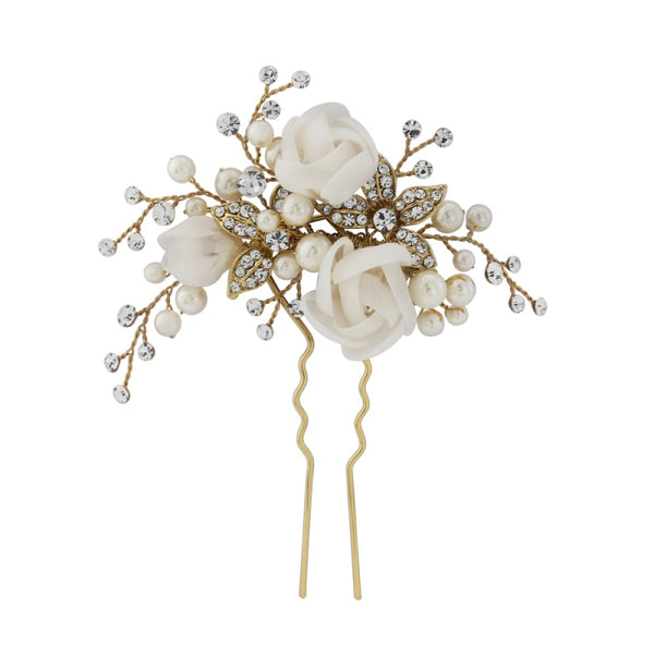 Freya Luxe Gold Hair Pin Sass B Collection