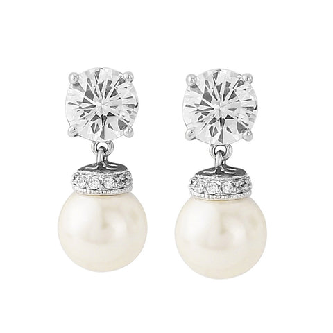 Forever Pearl Bridal Earrings