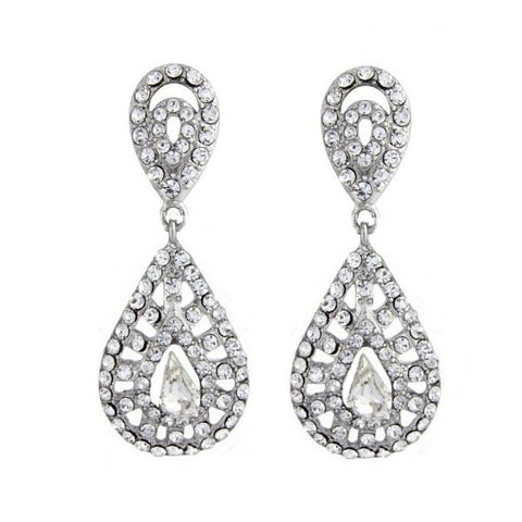 Gatsby Chic Bridal Earrings