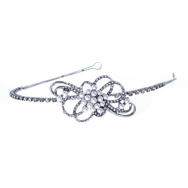 Wedding Side Tiara With Side Detail Present