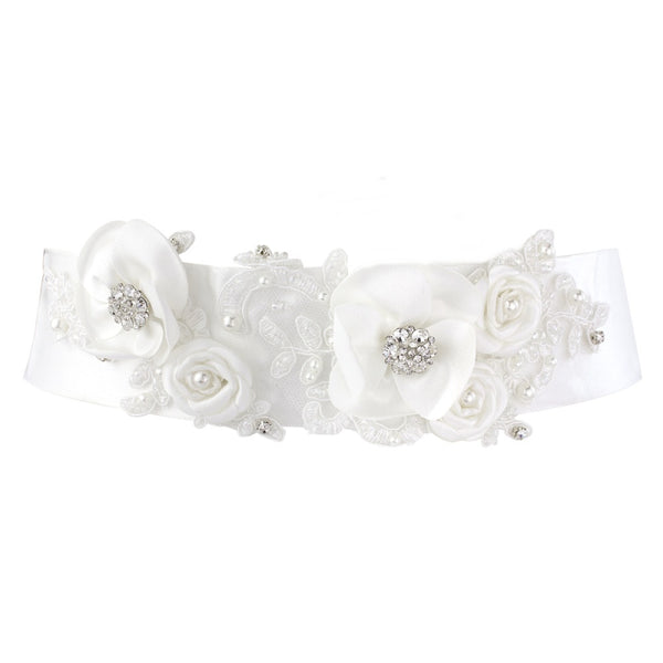 Sophie Bridal Sash Belt
