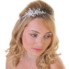 Side Headband With Large & Small Diamante Flowers