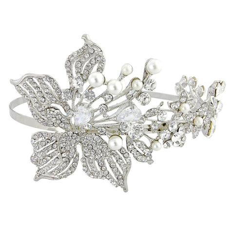 Vintage Couture Crystal Bridal Headband