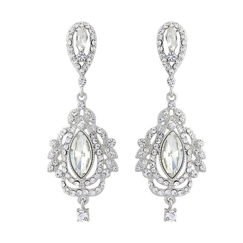 Vintage Treasure Bridal Earrings