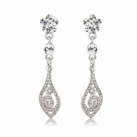 Vintage Vogue Bridal Earrings