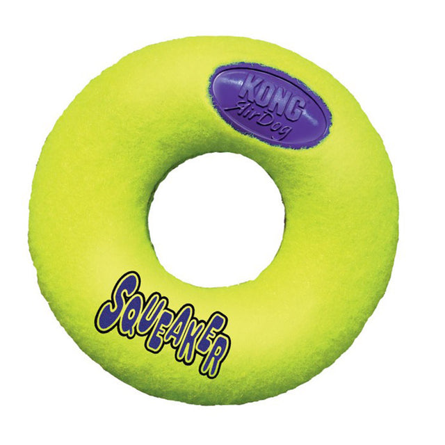 15% OFF: KONG® Air Squeaker Donut Dog Toy (S–L)