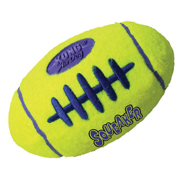 20% OFF: KONG® Air Squeaker Football Dog Toy (S–L)