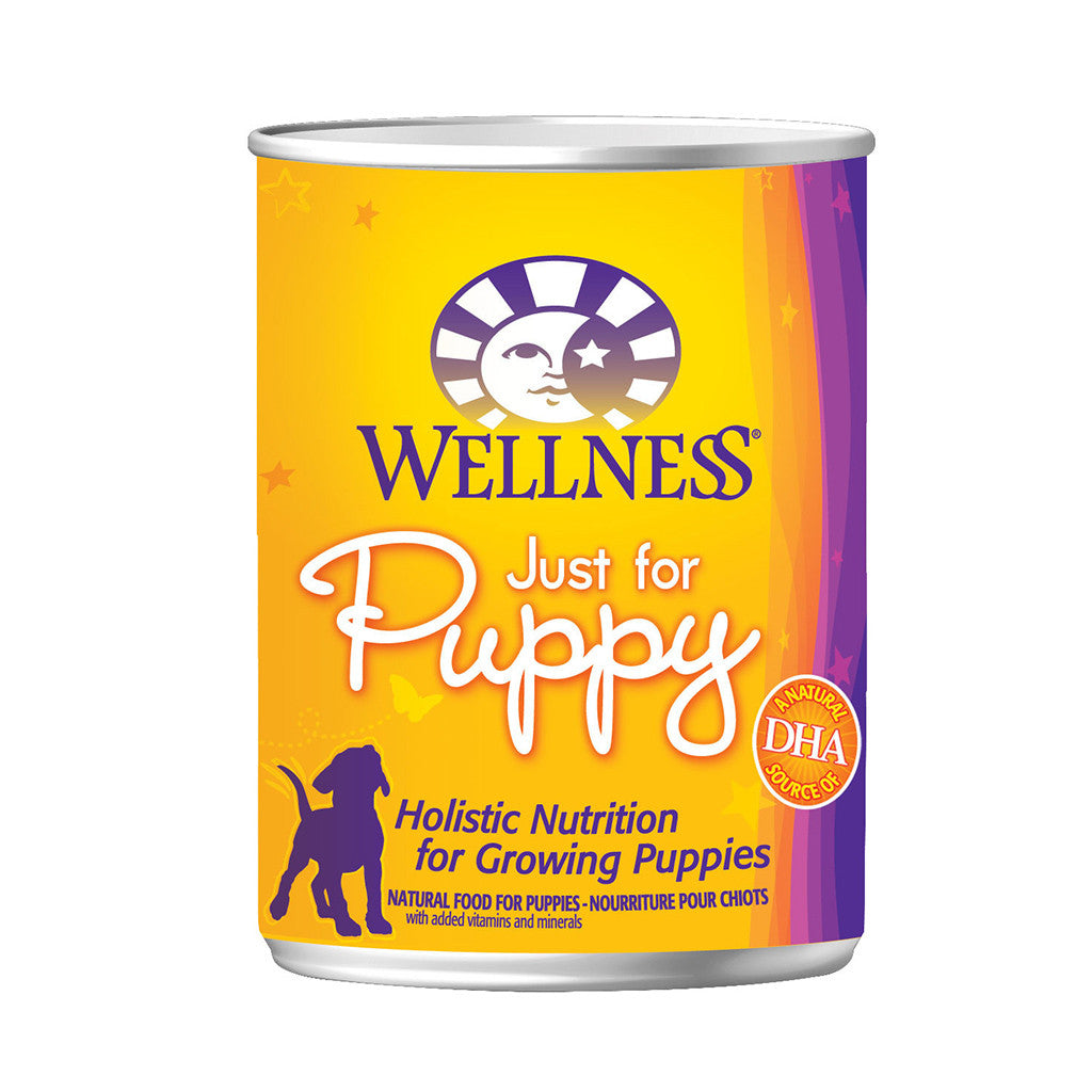 30% OFF + FREE TREATS: Wellness® Complete Health Just For Puppy Dog Food 354g (12/24pcs)