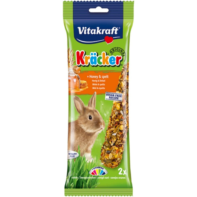10% OFF: Vitakraft® Kracker Honey Rabbit Treats (2pcs)