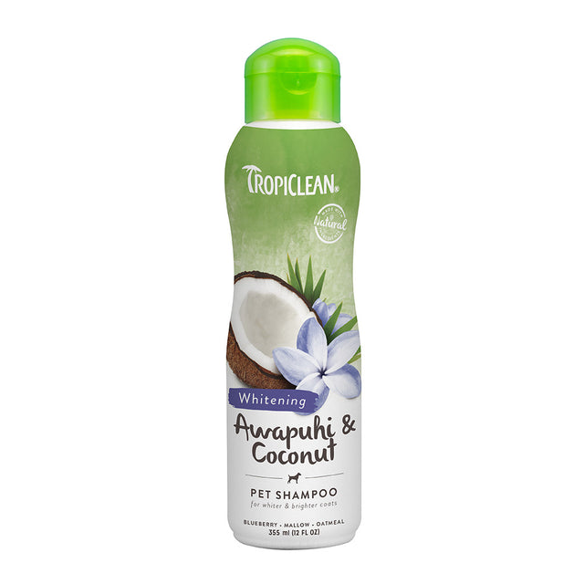 20% OFF: TropiClean® Awapuhi & Coconut Whitening Pet Shampoo (355ml)
