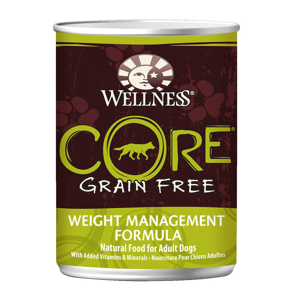 30% OFF + FREE TREATS: Wellness® CORE Reduced Fat Grain-Free Canned Dog Food 354g (12/24pcs)
