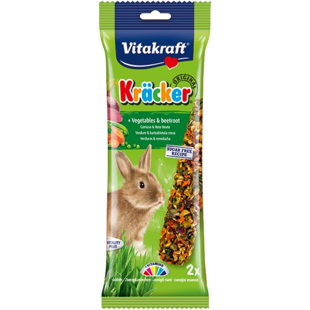 10% OFF: Vitakraft® Kracker Vegetable Rabbit Treats (2pcs)