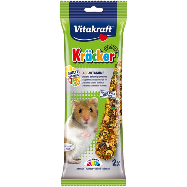 10% OFF: Vitakraft® Kracker Multi-Vitamin Hamster Treats (2pcs)