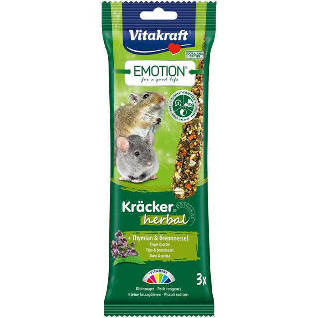 10% OFF: Vitakraft® Emotion Kracker Herbal Small Pet Treats (2 pcs)