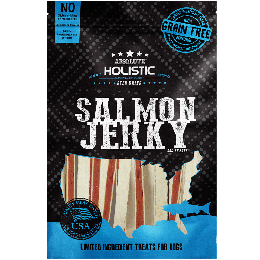 BUY 3 FREE 1 [SAVER]: Absolute Holistic® Grain-Free Salmon & Whitefish Sandwich Dog Treats
