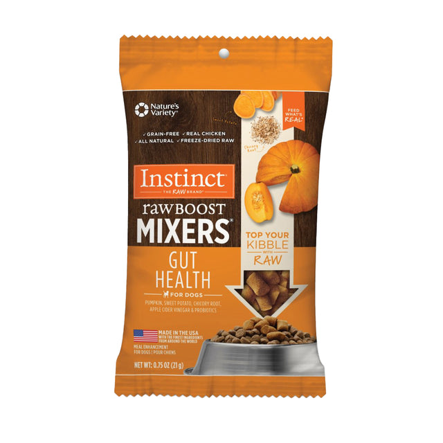 $3.50 ONLY [NEW]: Instinct® Raw Boost Mixers Gut Health Freeze-Dried Dog Food (21g)