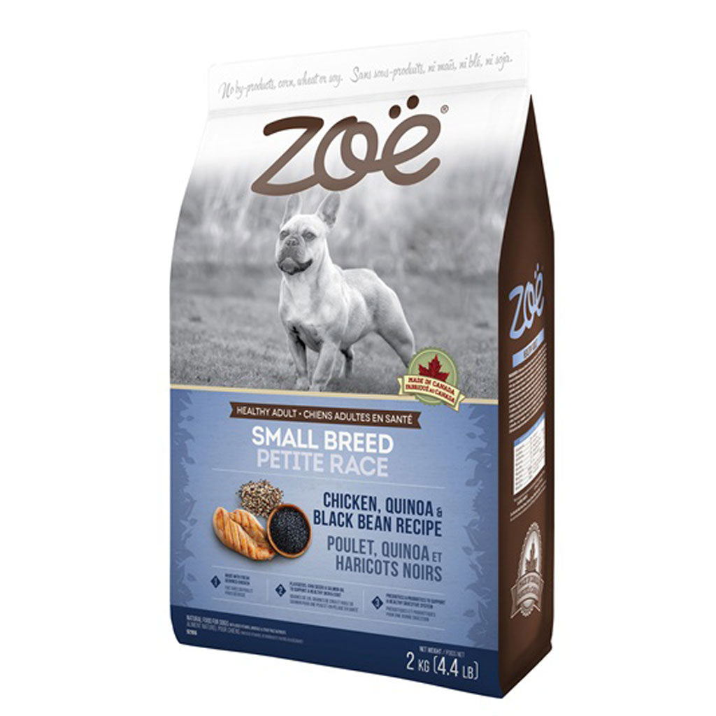 25% OFF [NEW]: Zoë® Chicken, Quinoa & Black Bean Small Breed Dry Dog Food 2kg