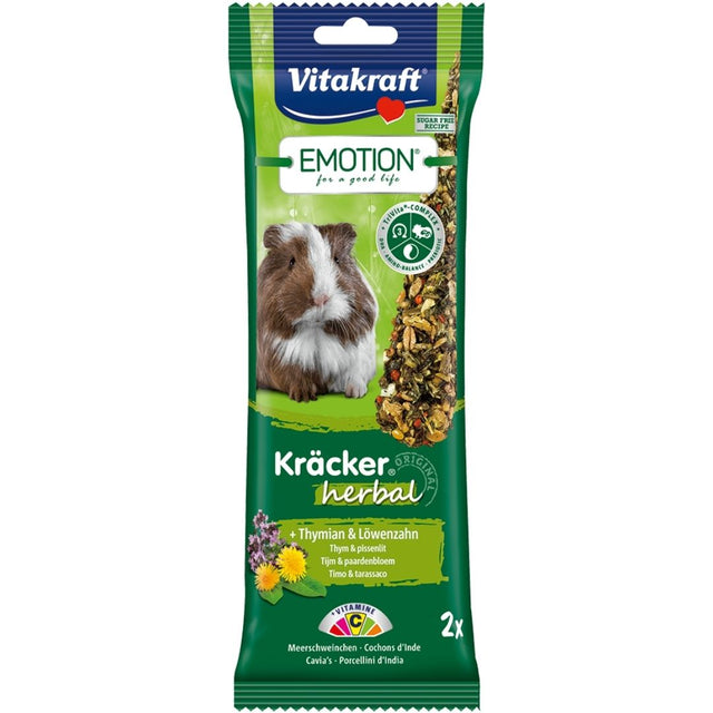 10% OFF: Vitakraft® Emotion Kracker Herbal Guinea Pig Treats (2 pcs)