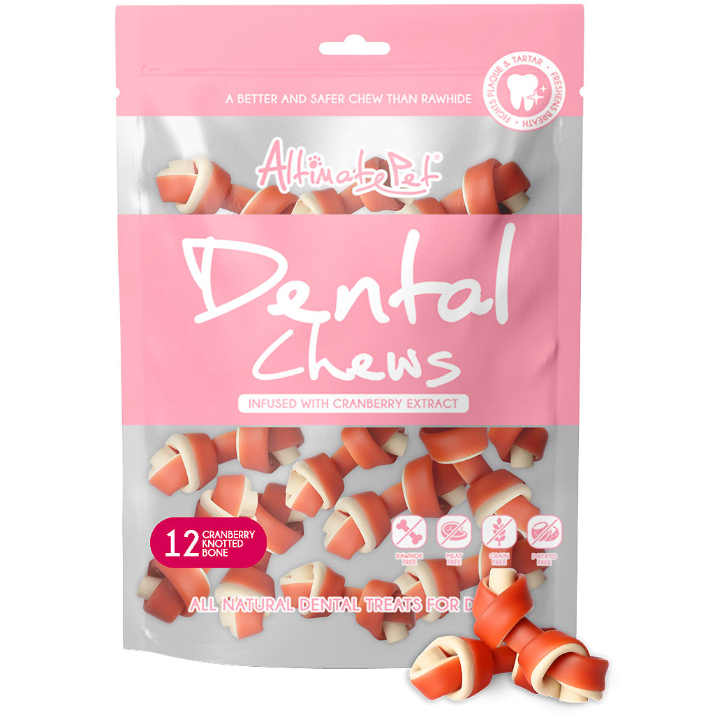 3 FOR $19.90 [CNY21]: Altimate Pet® Dog Dental Chews - 15 Types (150g)