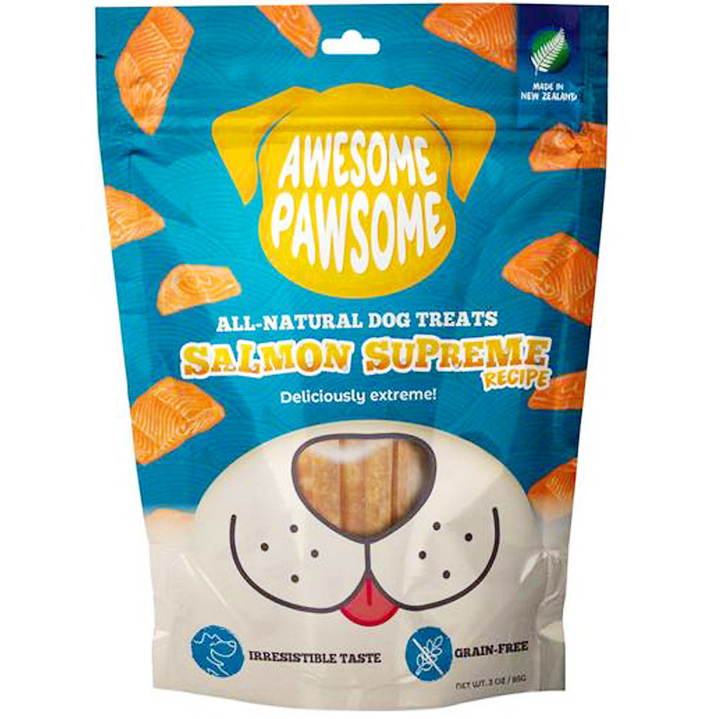 2 FOR $9.90 [9.9 SALE]: Awesome Pawsome® Grain-Free Dog Treats - 6 Flavours