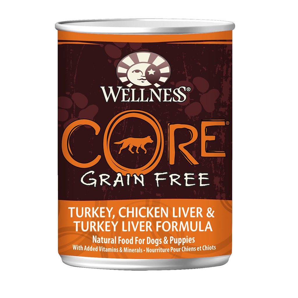 30% OFF + FREE TREATS: Wellness® CORE Original Grain-Free Canned Dog Food 354g (6/12/24pcs)