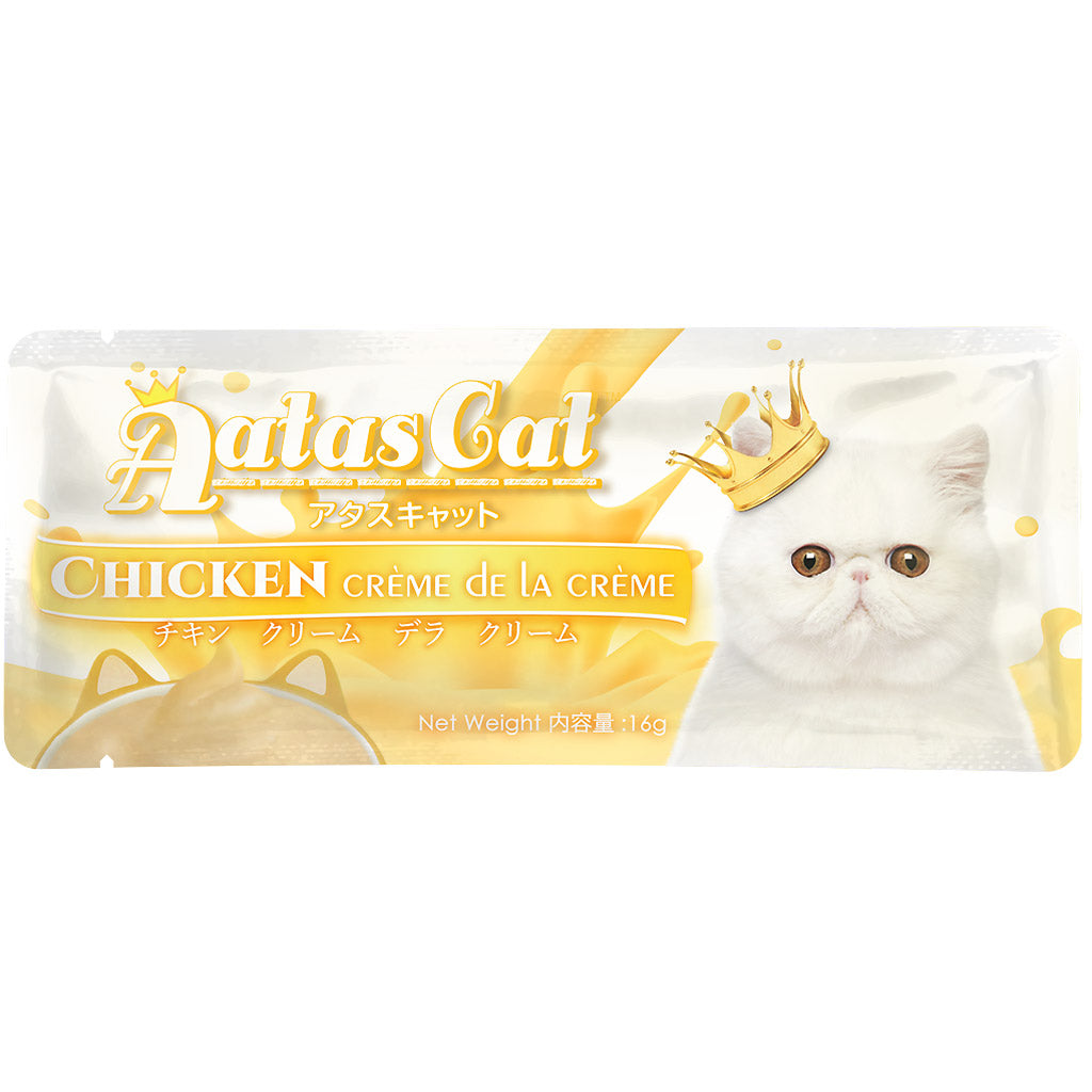 24% OFF: Aatas Cat® Creme De La Creme Chicken Cat Treat 16g (20/40pcs)