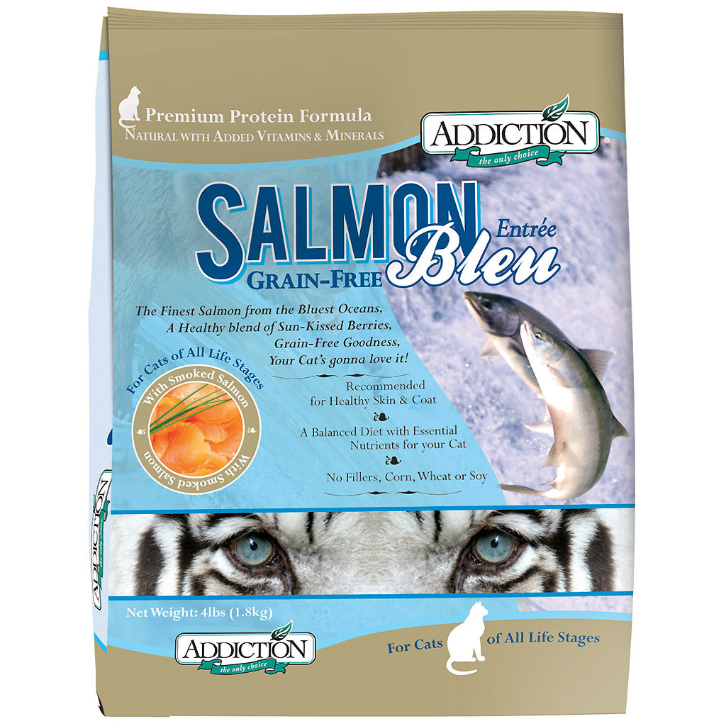 20% OFF: Addiction® Salmon Bleu Grain-Free Dry Cat Food (2 sizes)