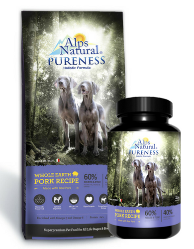 30% OFF: Alps Natural® Pureness Holistic Pork Dry Dog Food (2 sizes)
