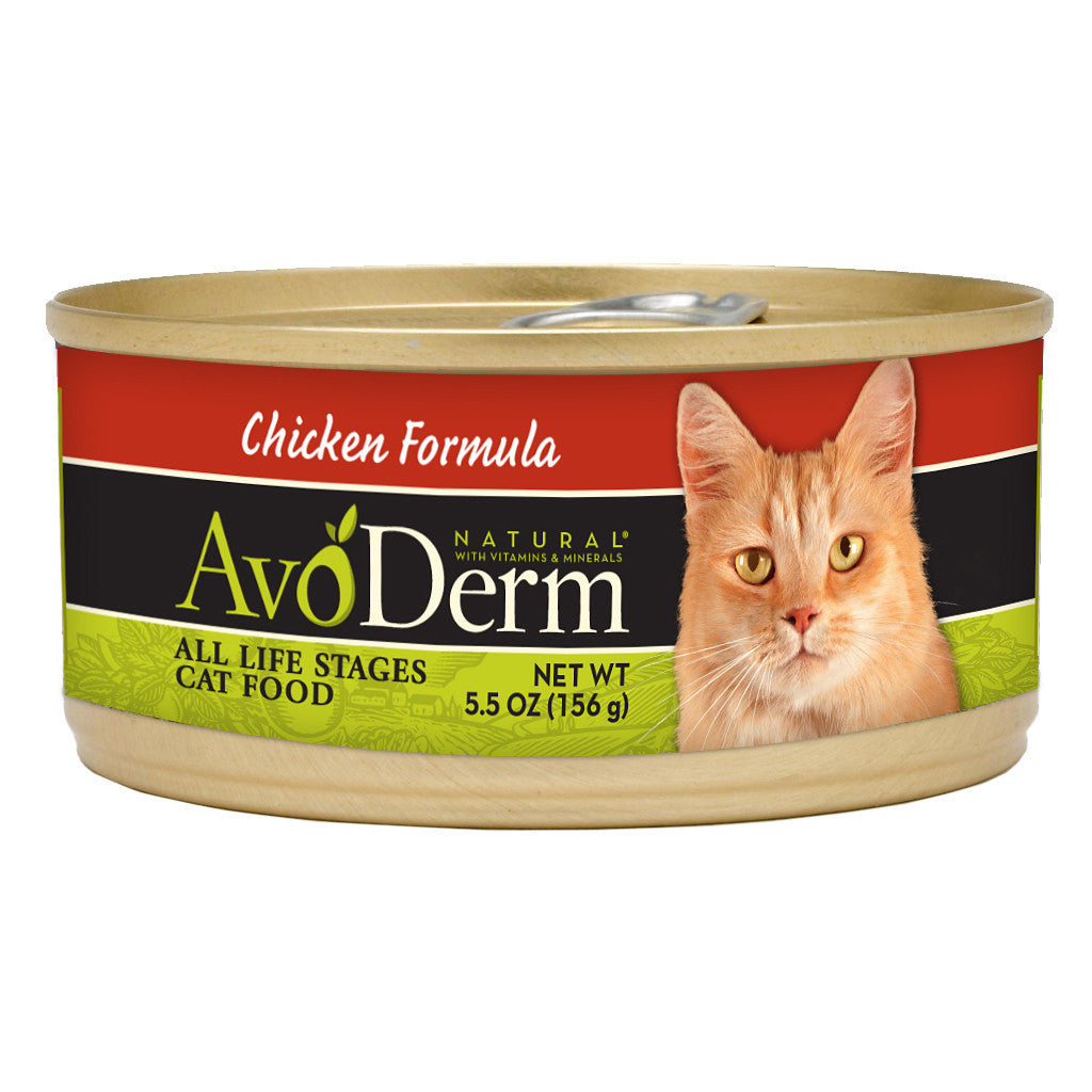 30% OFF: AvoDerm® Chicken Formula Canned Cat Food 156g (24pcs)