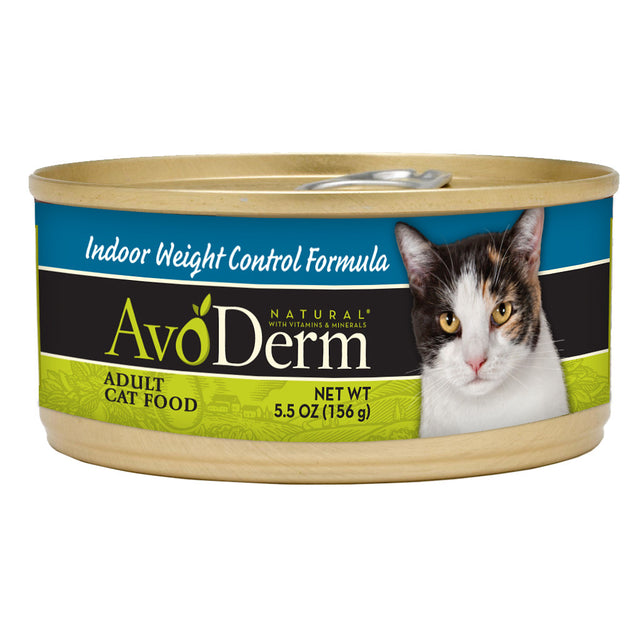 25% OFF: AvoDerm® Indoor Weight Control Canned Cat Food (24pcs)