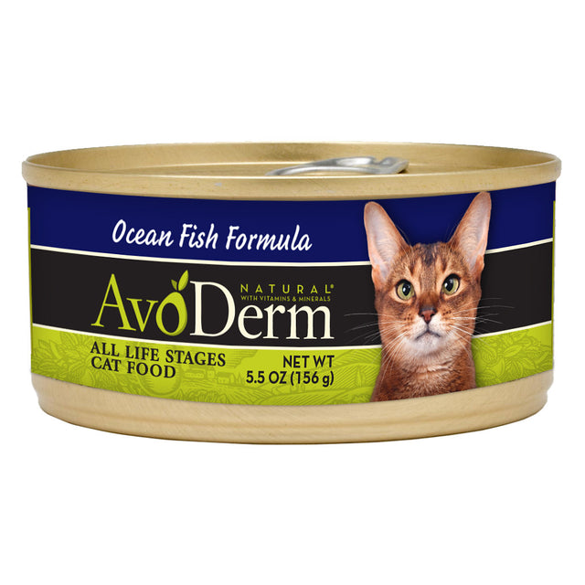 AvoDerm® Ocean Fish Formula Canned Cat Food (24pcs)