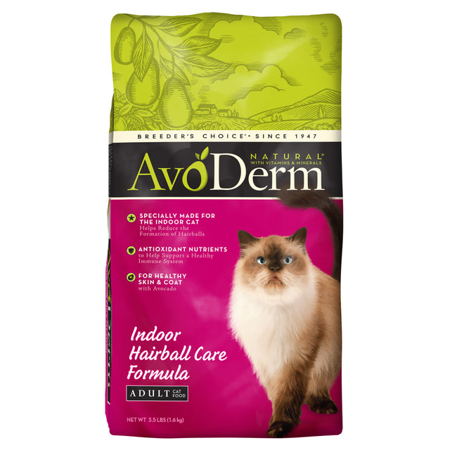 AvoDerm® Indoor Hairball Care Formula Dry Cat Food