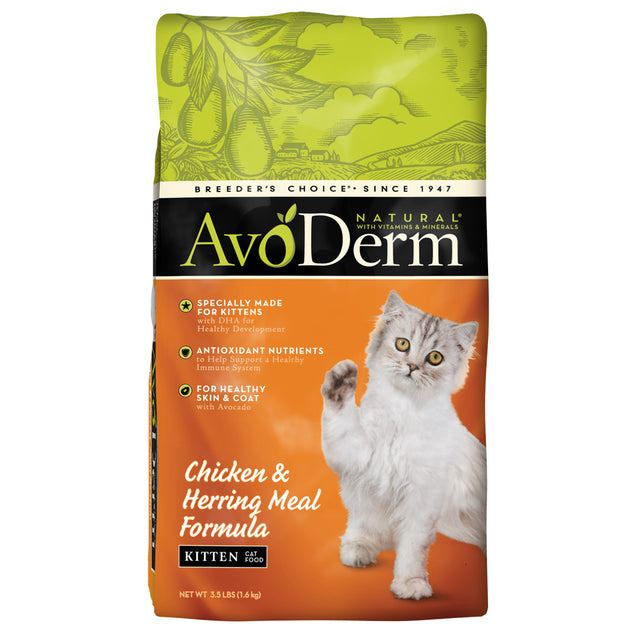 AvoDerm® Chicken & Herring Meal Kitten Dry Cat Food 1.6kg