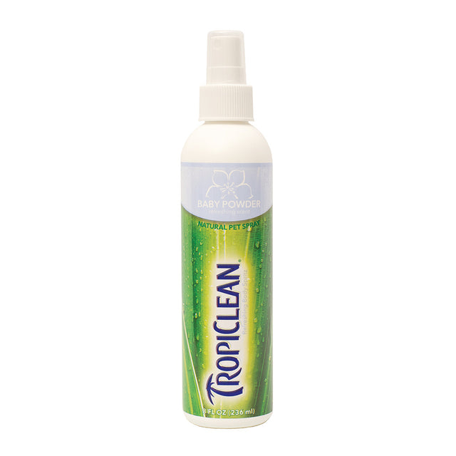 20% OFF: TropiClean® Baby Powder Deodorizing Pet Spray