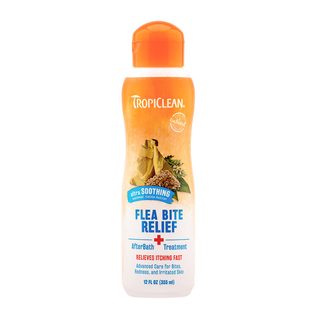 10% OFF: TropiClean® Natural Flea & Tick Bite Relief After Bath Treatment (355ml)