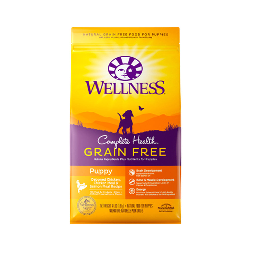 [SALE –20%] Wellness® Complete Health Grain-Free Puppy Dry Dog Food