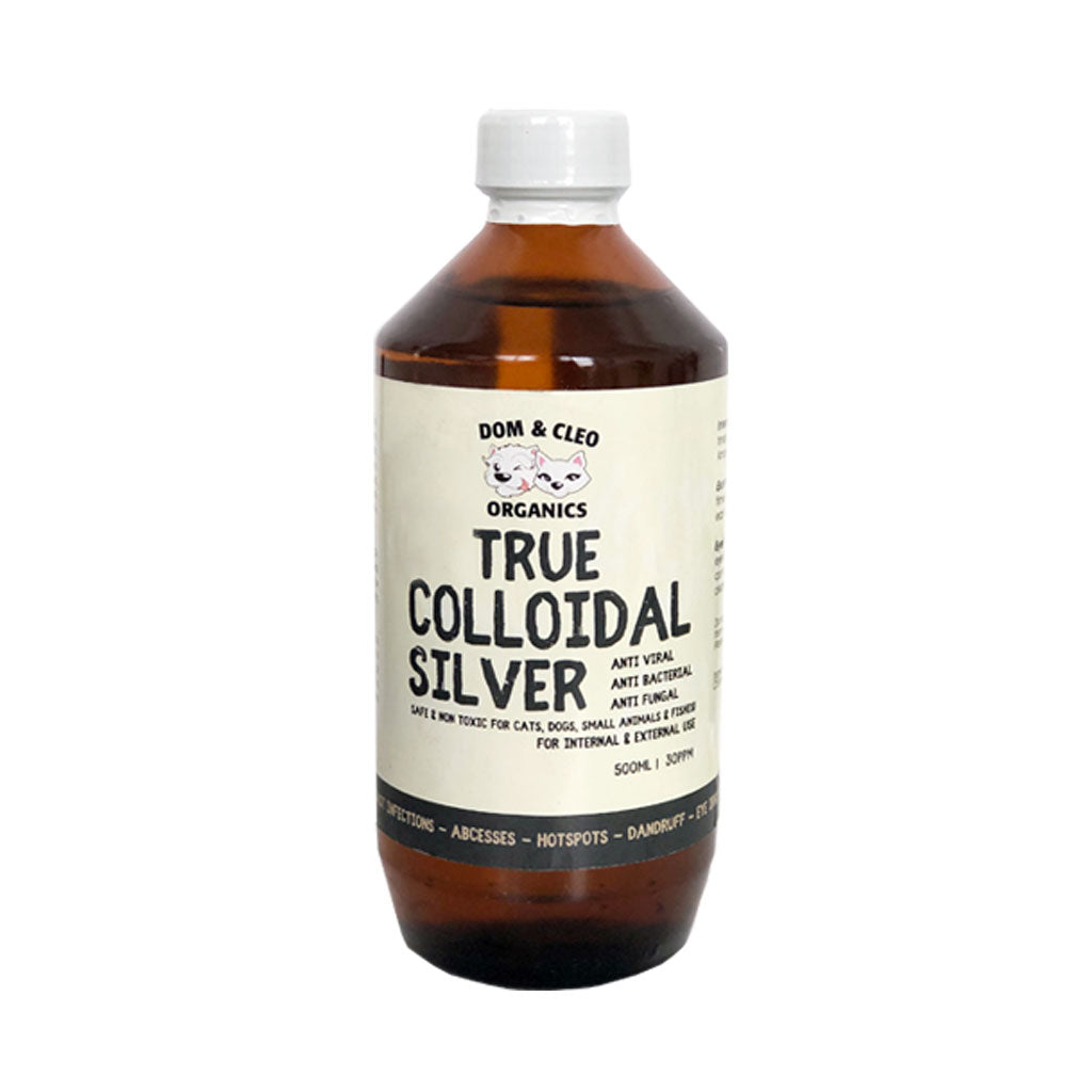 10% OFF: Dom & Cleo® Colloidal Silver for Dogs & Cats (2 sizes)