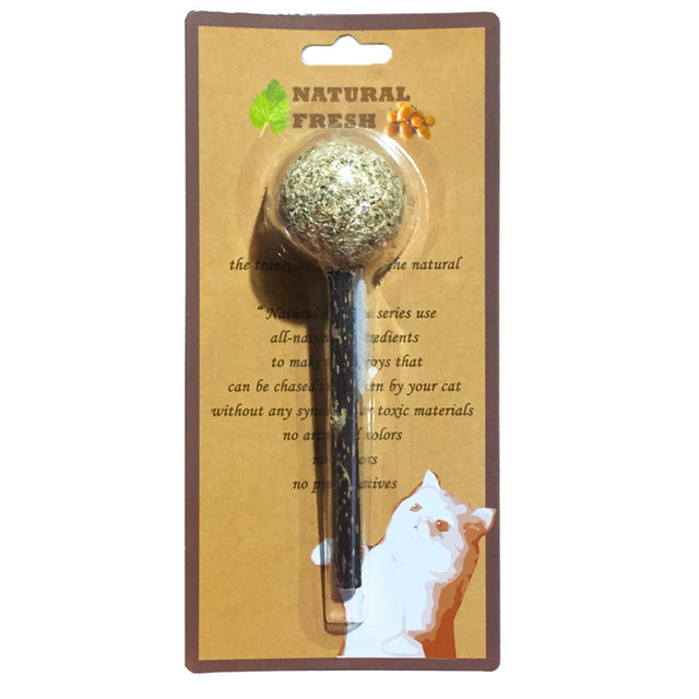 [NEW LAUNCH]: Catwant® Matatabi Fitness Lollipop