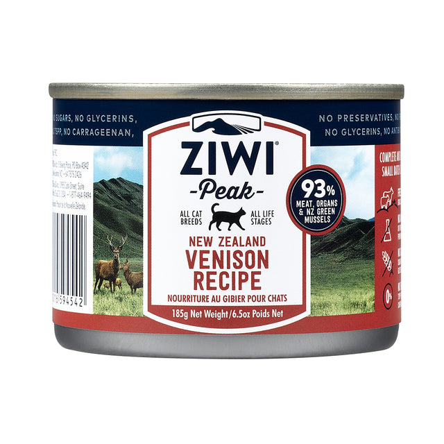 20% OFF + FREE POUCH: Ziwi Peak® Premium Venison Canned Cat Food (85g)