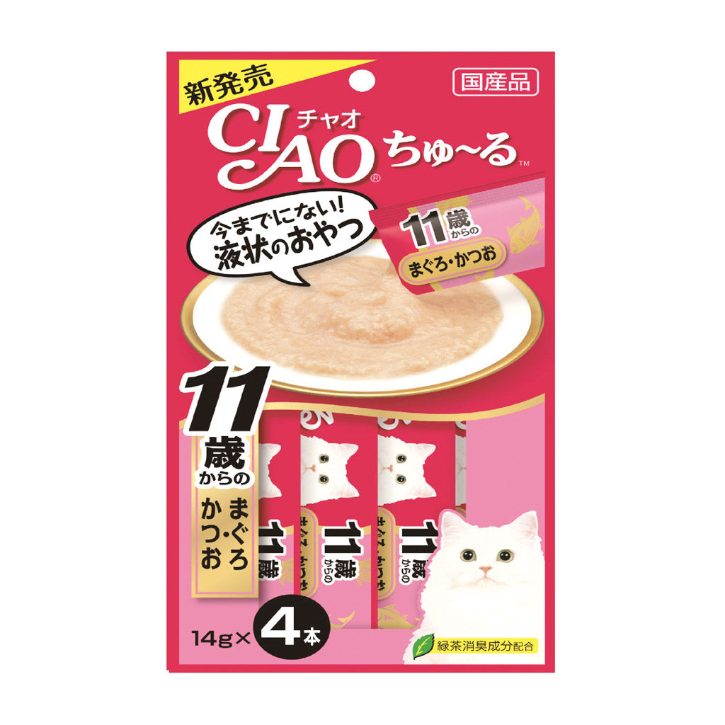 Ciao® Churu Tuna with Collagen Cat Treat 14g (4pcs)