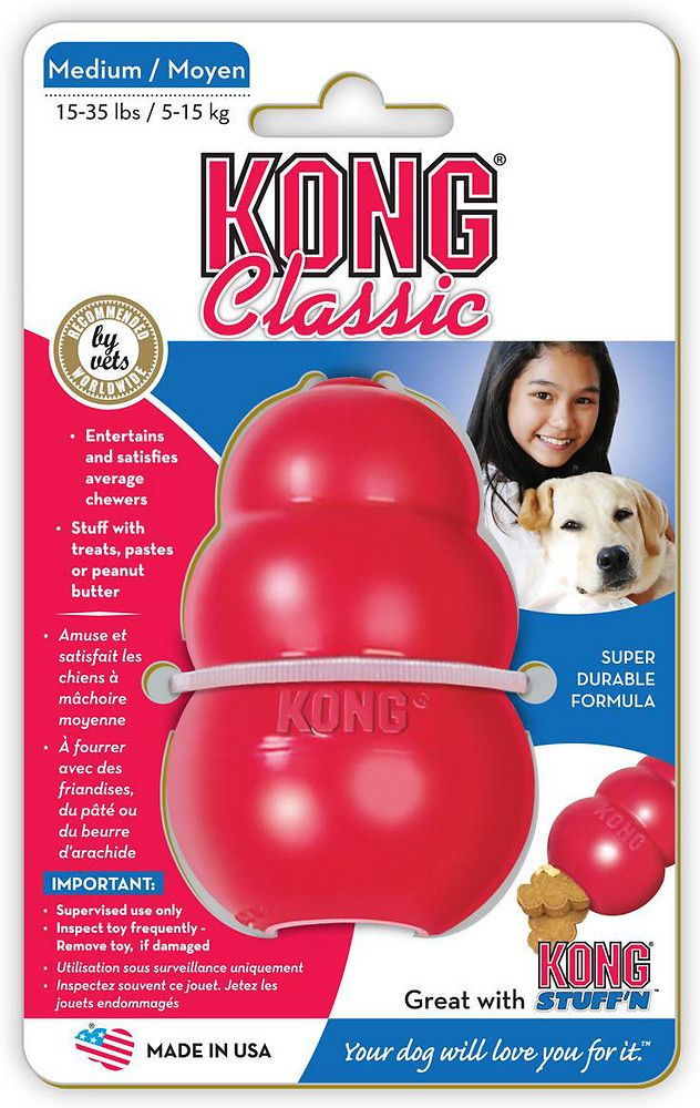 15% OFF: KONG® Classic Dog Toy (6 sizes)