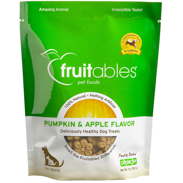 BUY 2 FREE 1 [BFCM]: Fruitables® Natural Crunchy Pumpkin & Apple Dog Treats (190g)