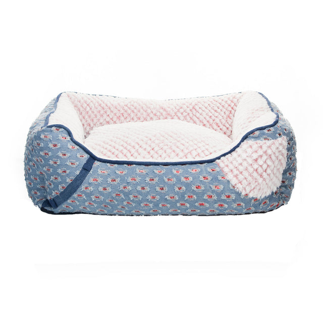 40% OFF: MOBY'S® Denim Collection Swag Dog & Cat Bed