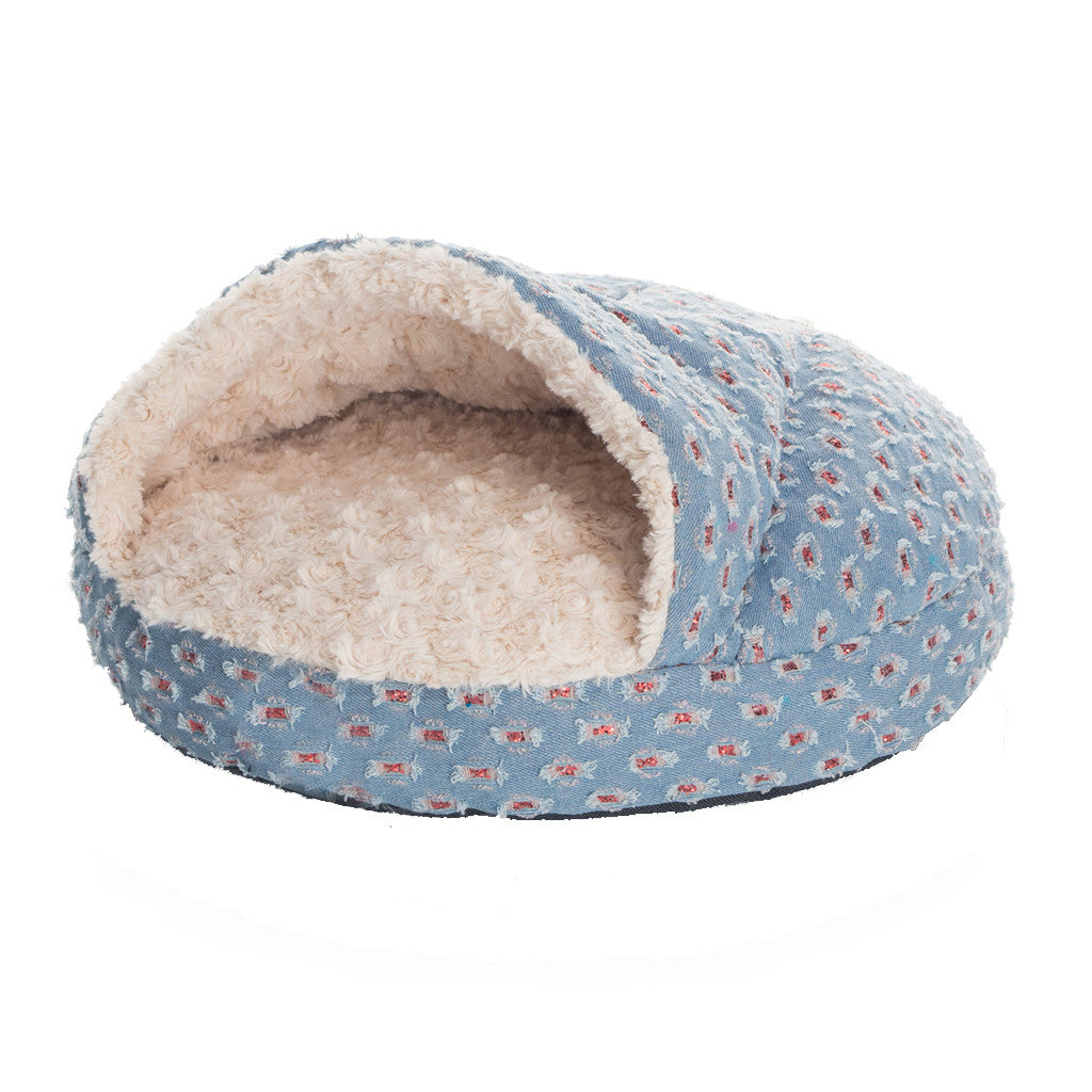 40% OFF: MOBY'S® Denim Collection Shell Dog & Cat Bed