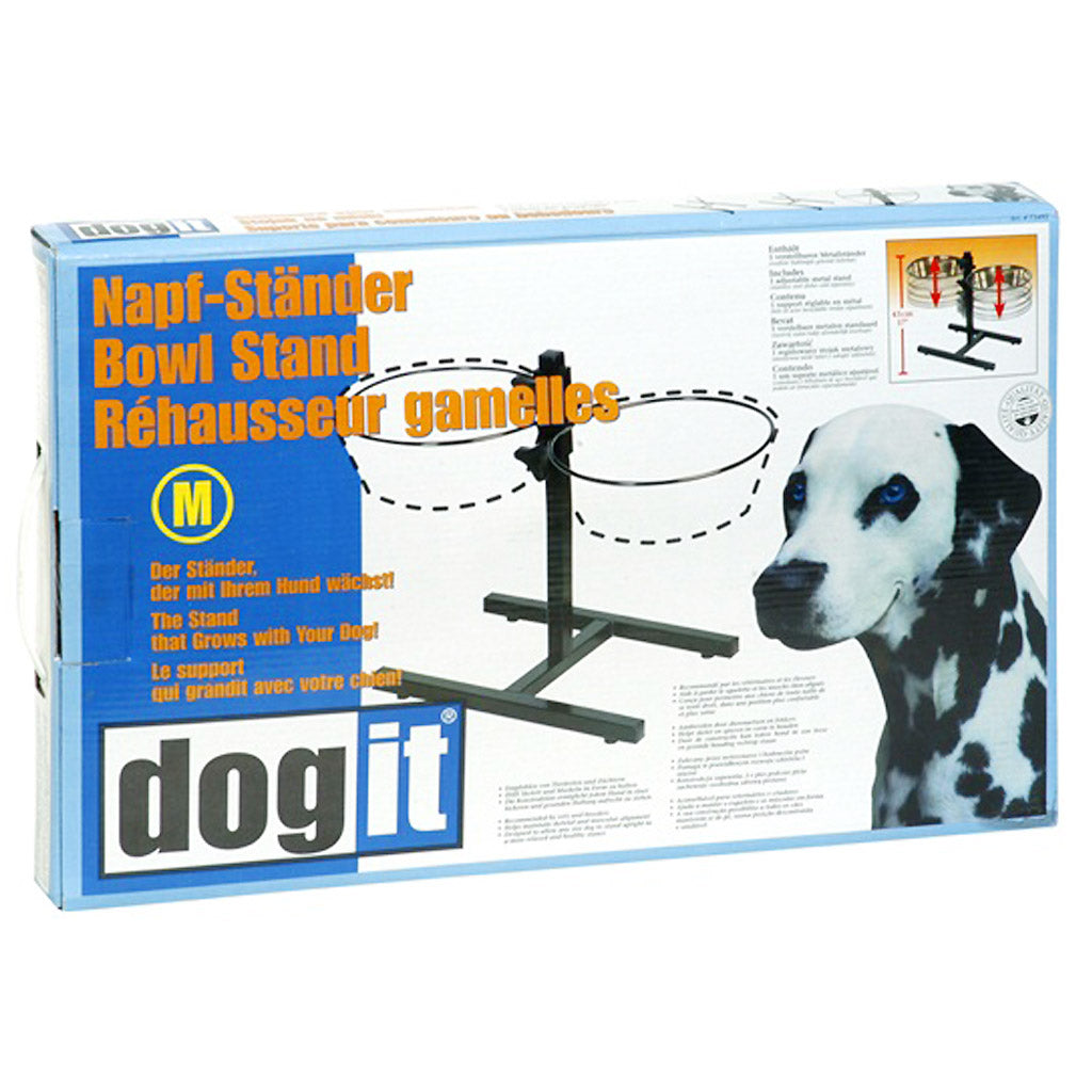 [SALE] Dogit® Adjustable Dog Bowl Stand (3 sizes)