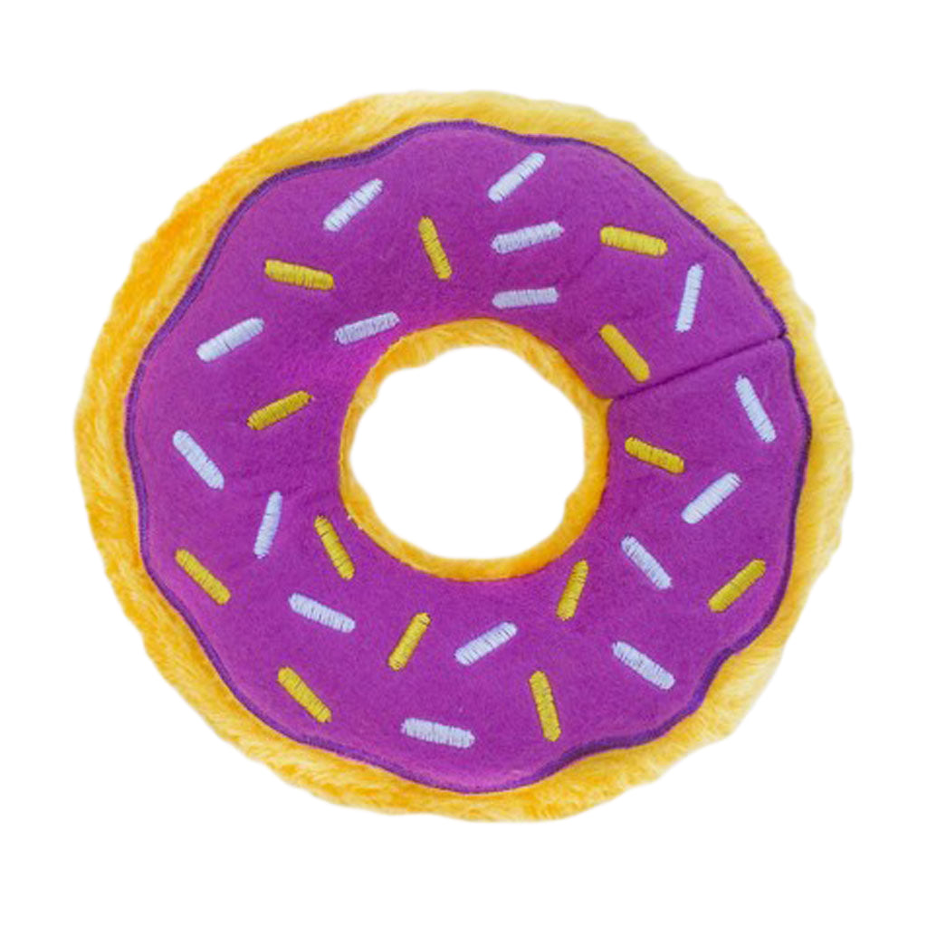 ZippyPaws® Halloween Donutz - Grape Jelly Dog Toy