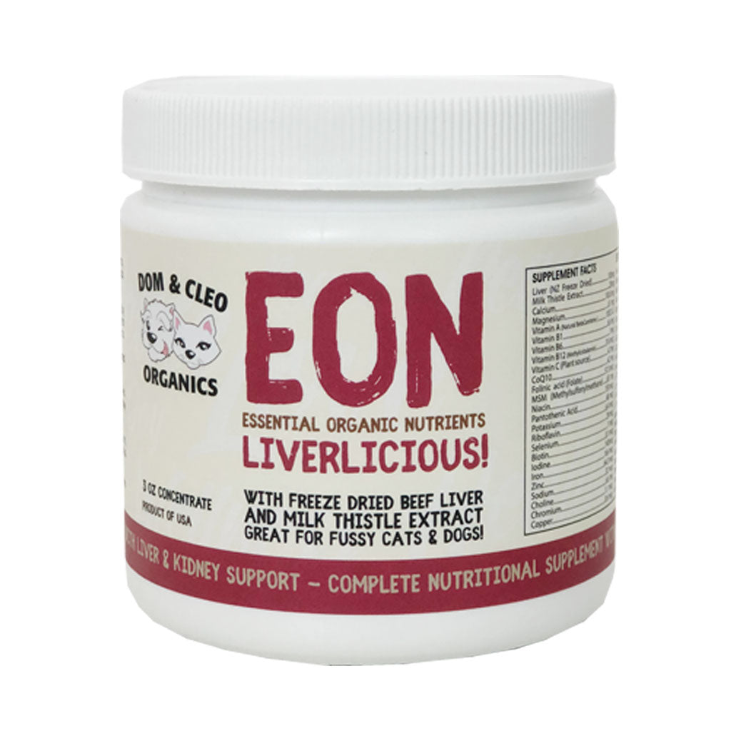 10% OFF: Dom & Cleo® EON Liverlicious Supplement for Dogs & Cats 85g (3oz)