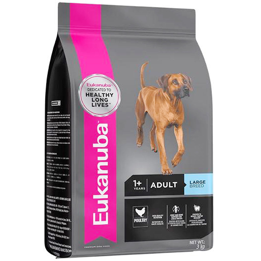25% OFF + FREE TREATS: EUKANUBA® Adult Large Breed Chicken Dry Dog Food (15kg)