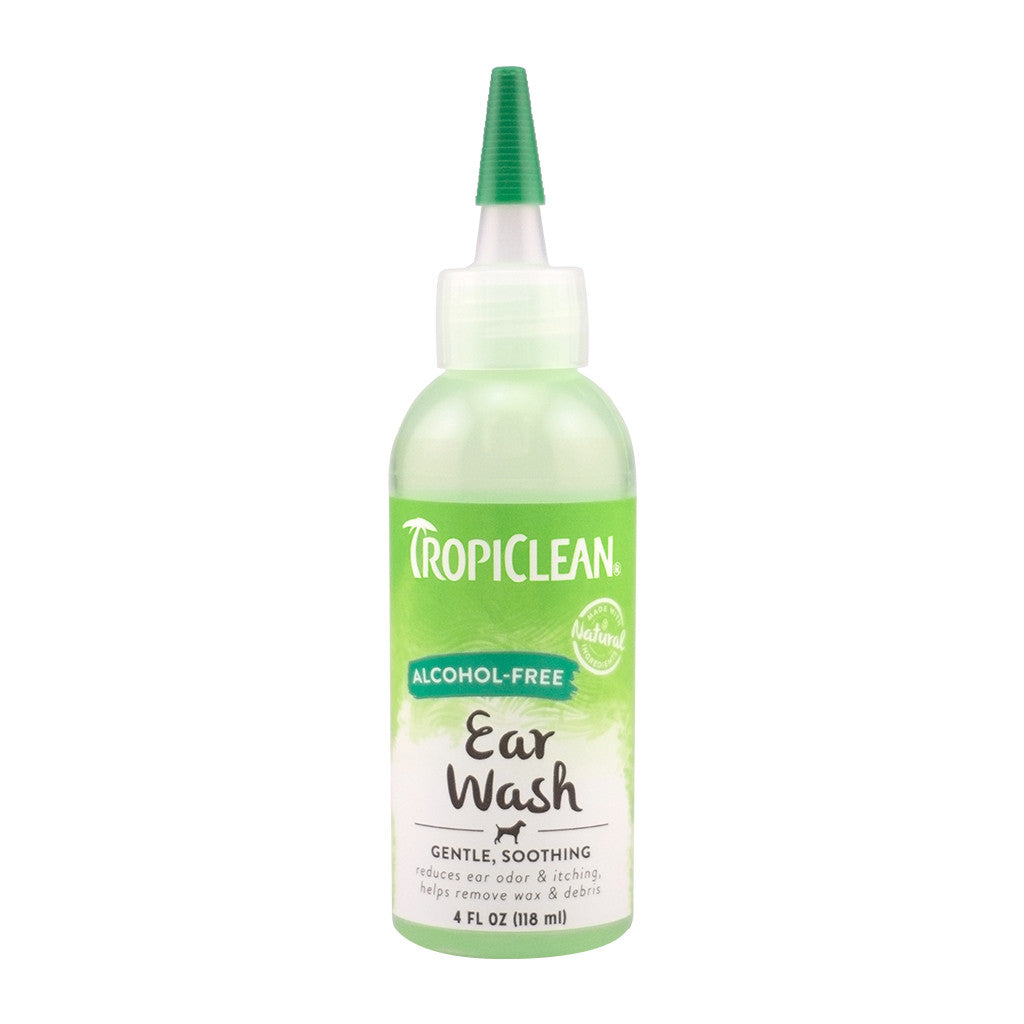 15% OFF: TropiClean® Alcohol-Free Ear Wash (118ml)
